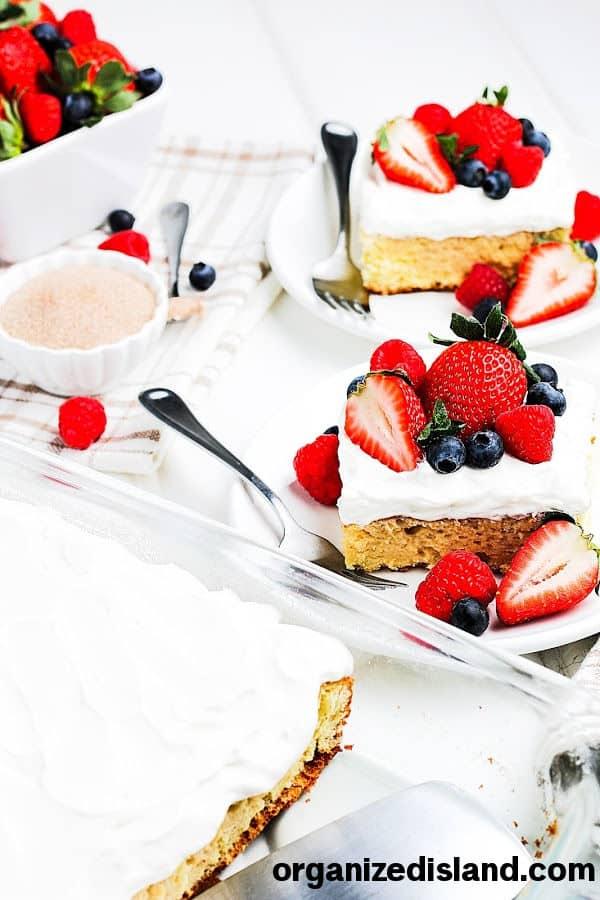 Tres Leches Cake Easy