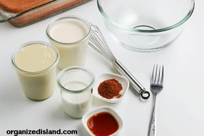 Tres Leches Cake Milk Ingredients