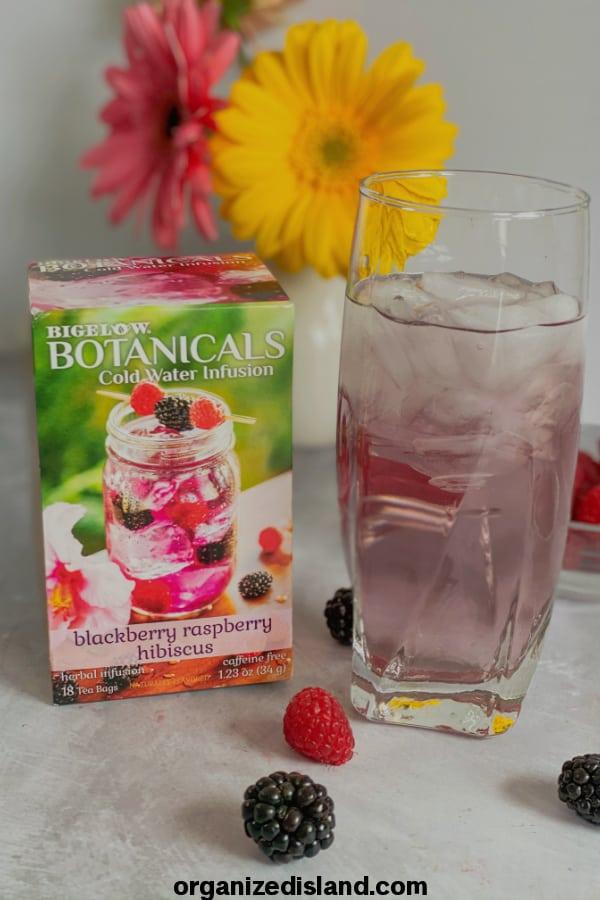 Bigelow Botanicals Blackberry Raspberry Watermelon Cucumber Mint