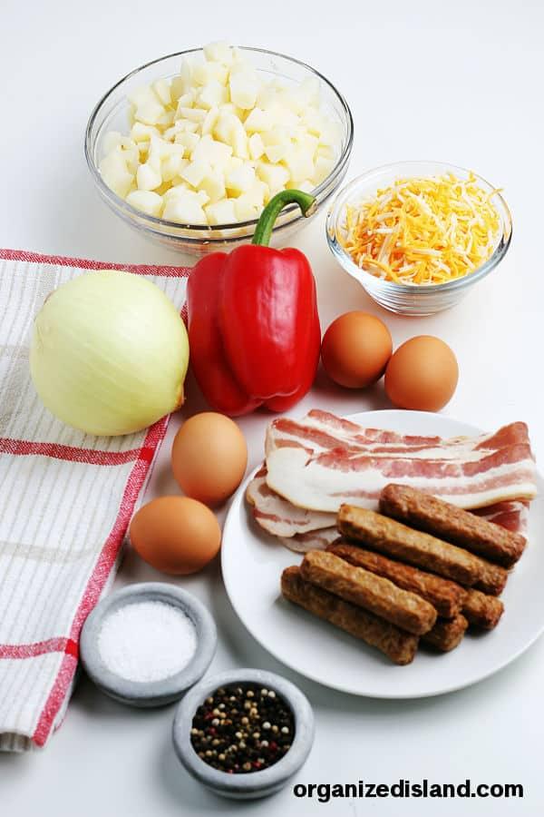 Breakfast Skillet Ingredients
