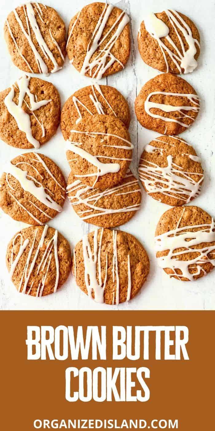 Best Brown Butter cookies