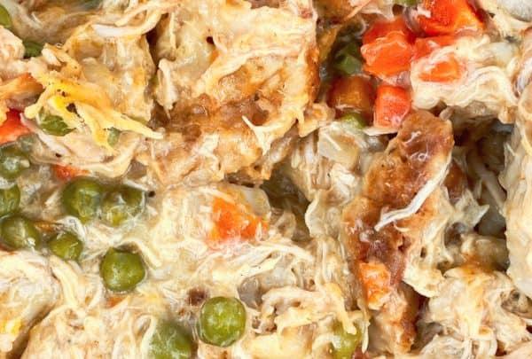Crockpot Chicken with Dumplings
