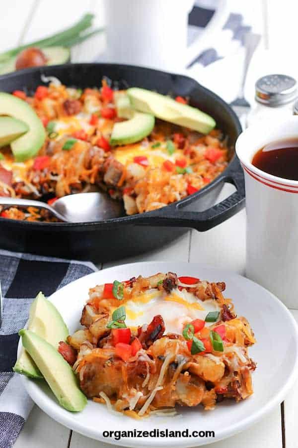 Easy Cast Iron Breakfast Skillet Recipe