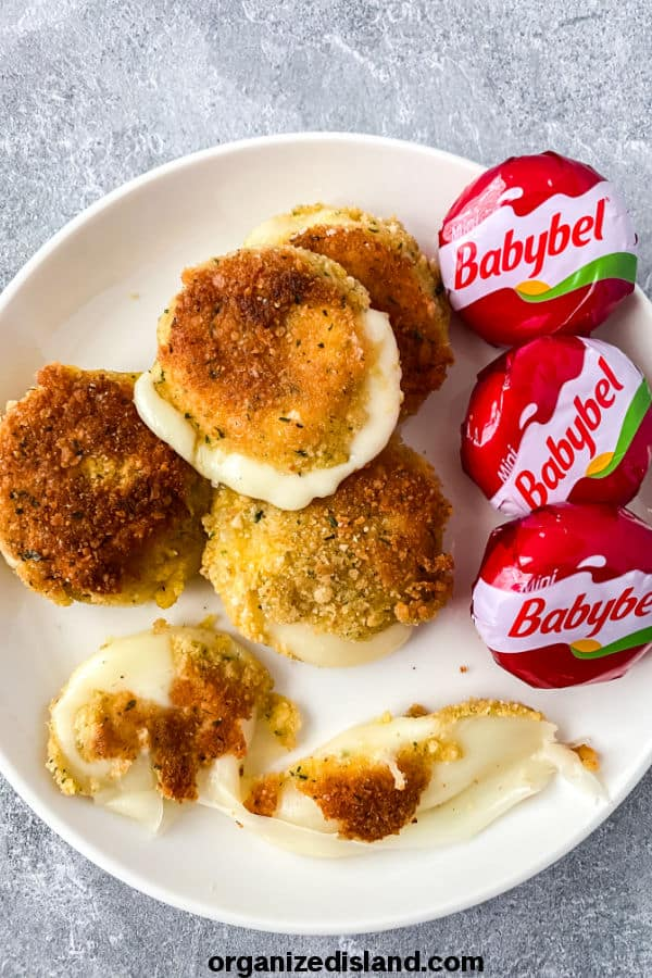 Fried Babybel