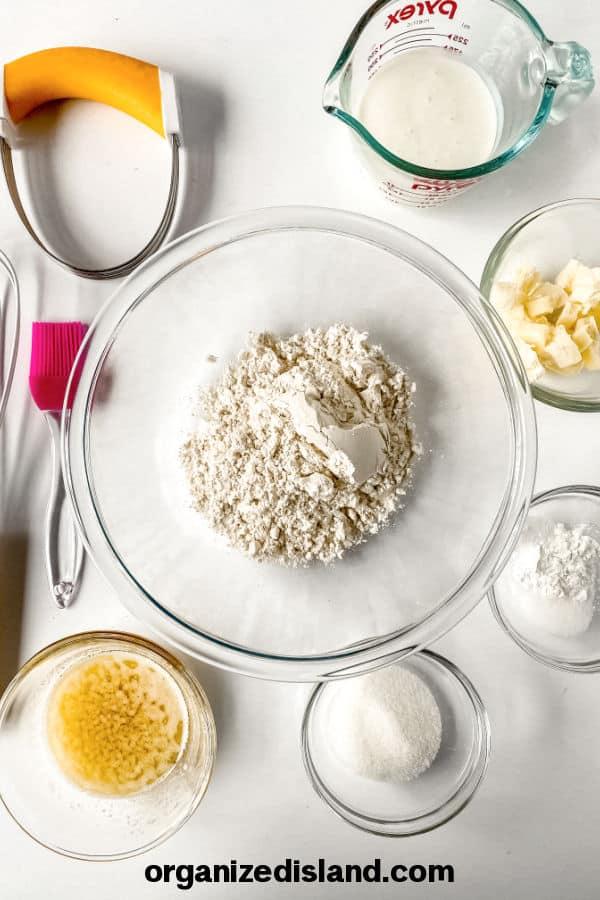Honey Butter Biscuit Ingredients