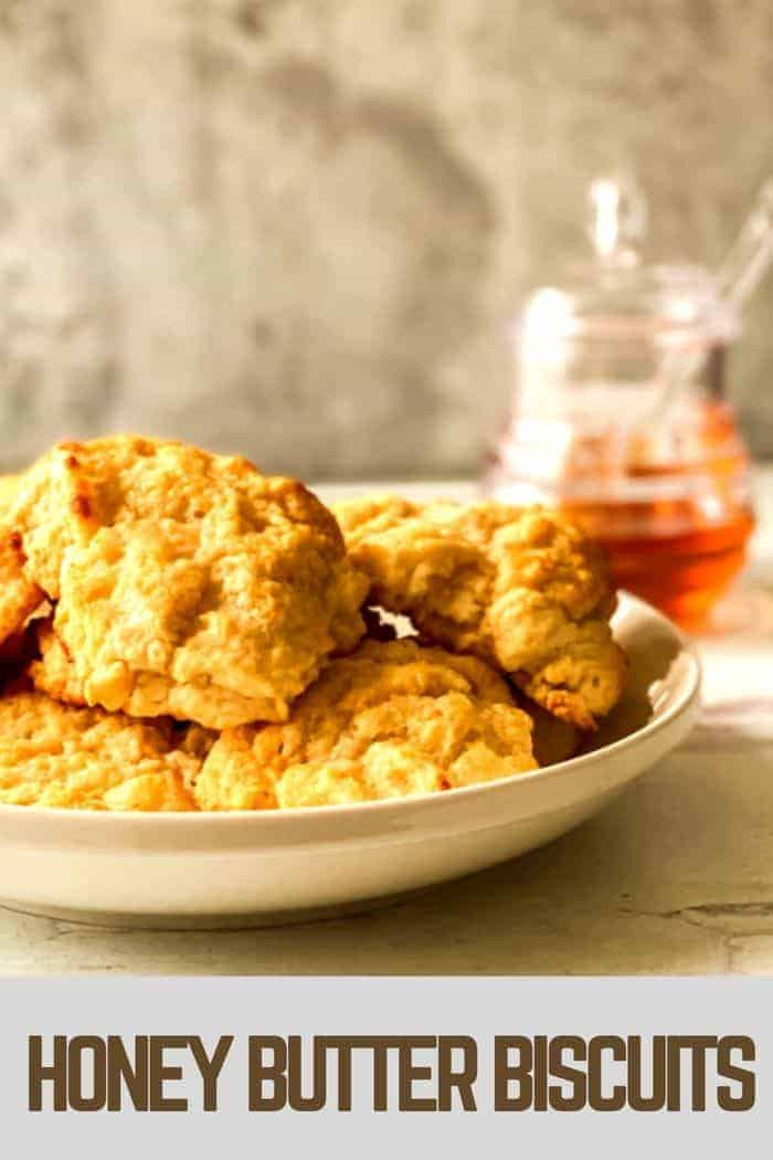Honey Butter Biscuits Easy