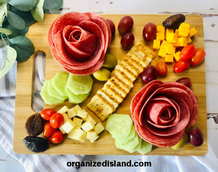 How to Make Charcuterie Roses