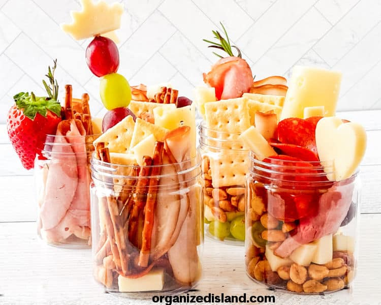 How to Make Charcuterie in Jars