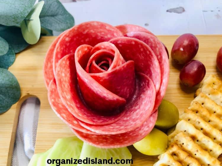 How to Make Salami Roses