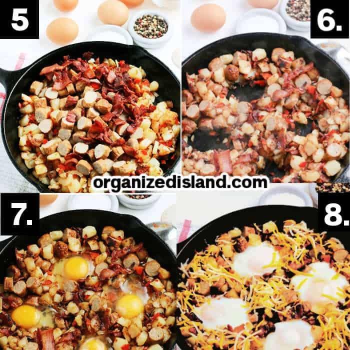 How to make A Breakfast Skillet