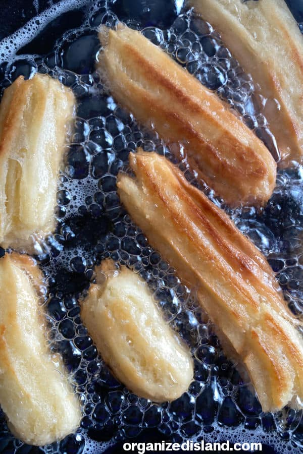 How to make Homemade Churros in oil