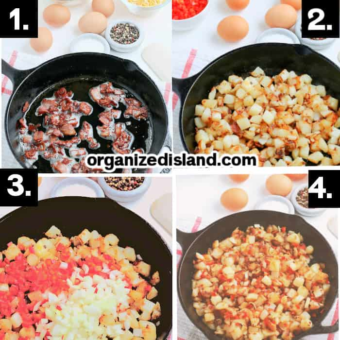 How to make a Cast Iron Breakfast Skillet