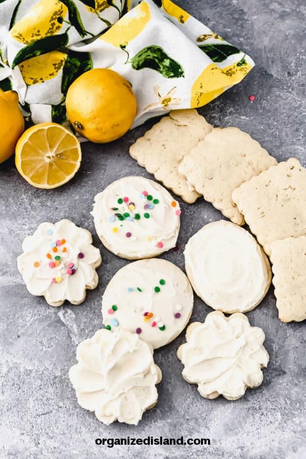 Lemon Sour Cream Cookies