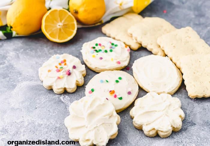 Sour Cream Lemon Cookies Recipe