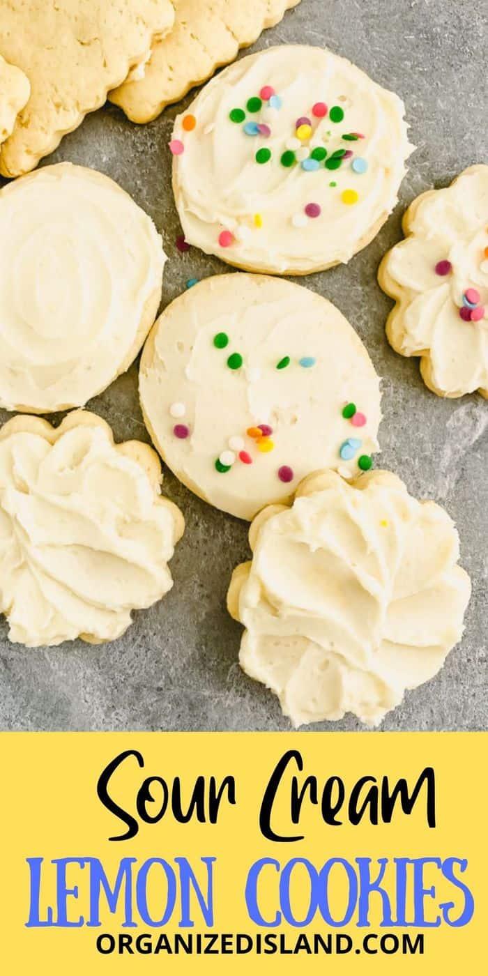 Sour Cream Lemon Cookies