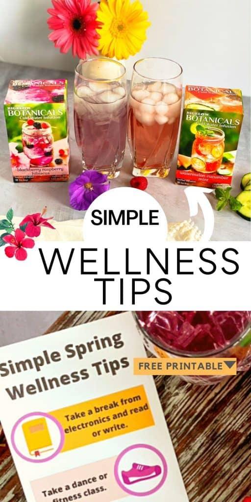 Wellness tips for spring