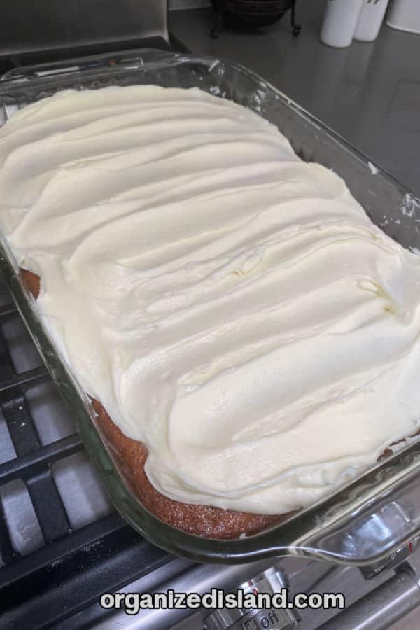 Banana Cake Frosting