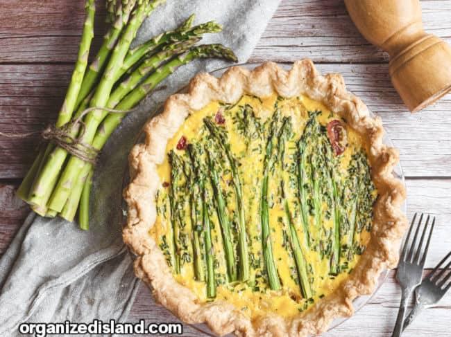 Best Asparagus Quiche Recipe