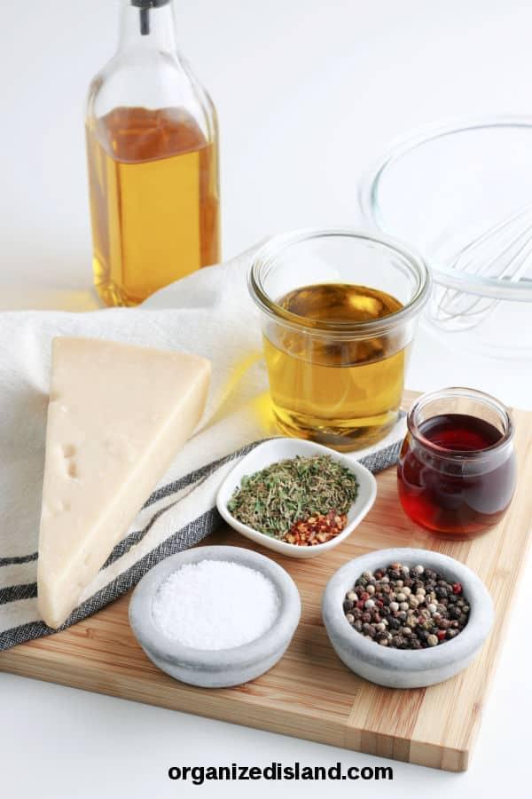 Homemade Italian Dressing Ingredients