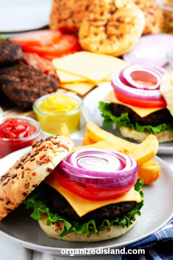 How to Grill Hamburgers