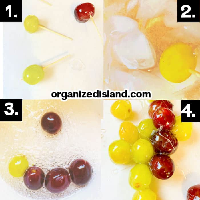 How to Make Candied Grapes