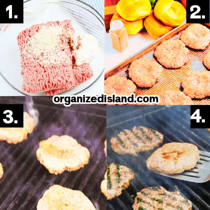 How to Make Grilled Burgers
