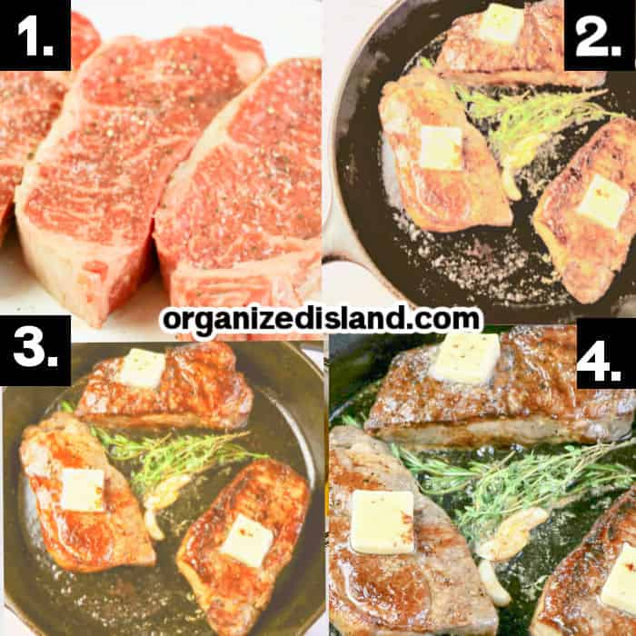 How to Make New York Strip Steak on the Stove
