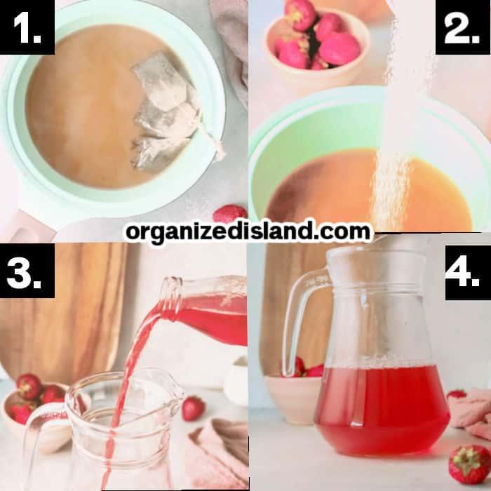 How to Make Strawberry Sweet TeaHow to Make Strawberry Sweet Tea