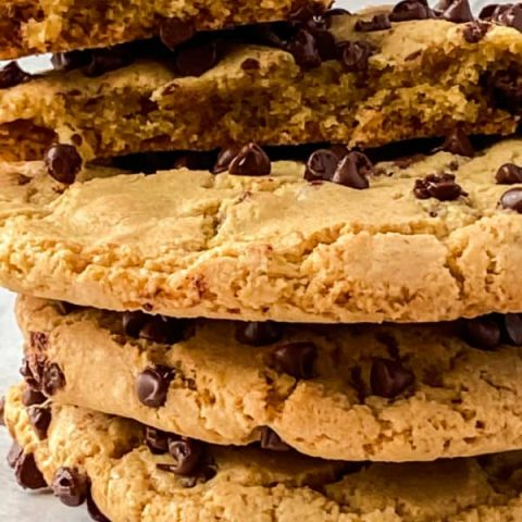 Monster Chocolate Chip Cookie