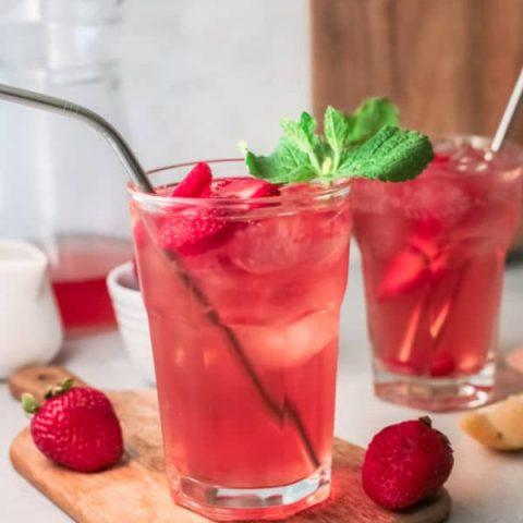 Strawberry Sweet Tea Recipe