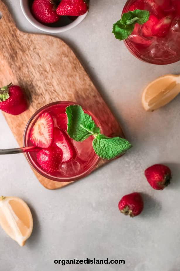 Strawberry Sweet Tea Recipe Easy