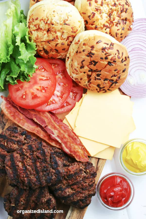 What to serve with Grilled burgers