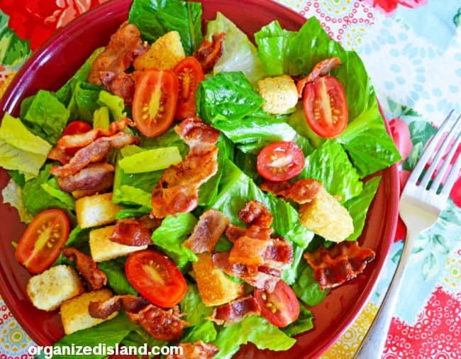 BLT Salad in bowl