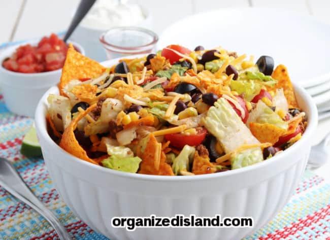Doritos Taco Salad Recipe Easy