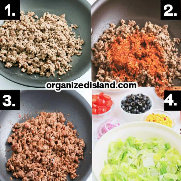 How to Make Doritos Taco Salad