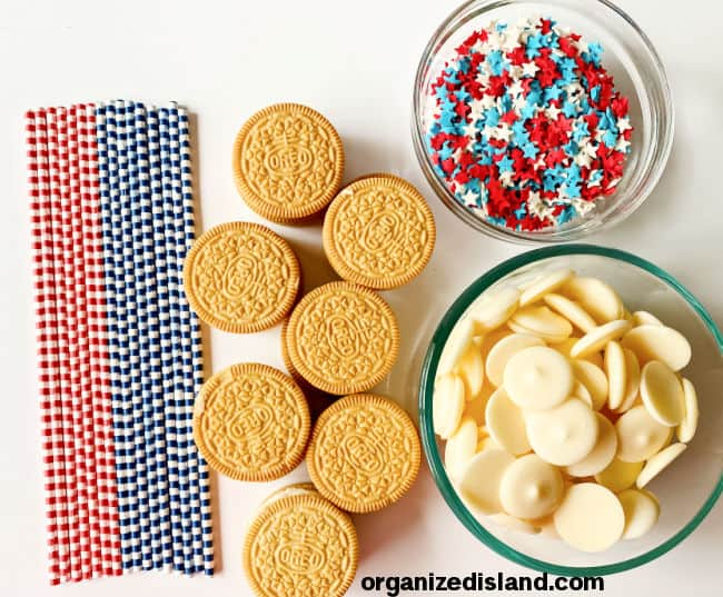 How to make covered oreos ingredients