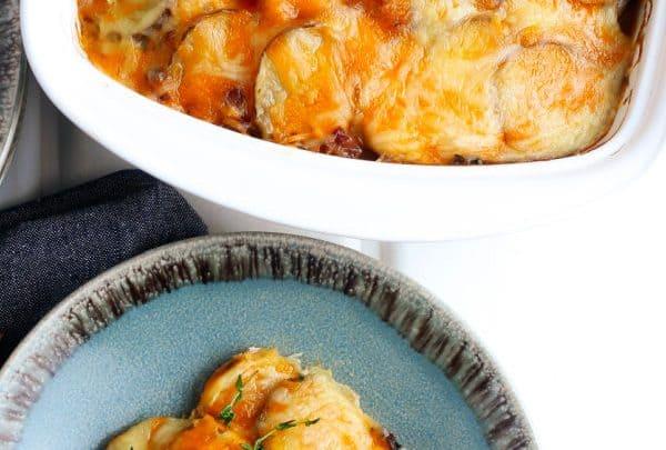 Scalloped Potatoes and Ham Recipe