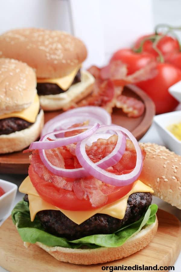 Air Fryer Hamburger recipe