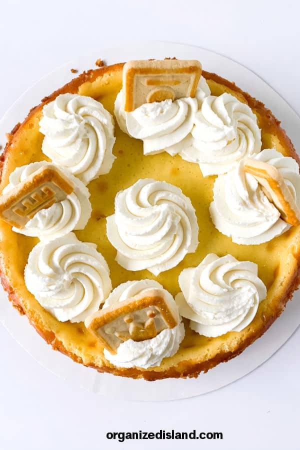 Banana Cheesecake Easy