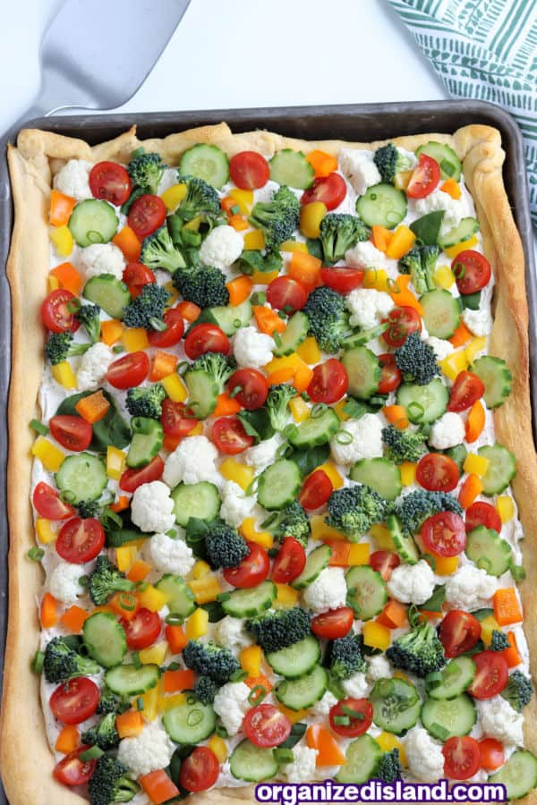 Epic Vegetable Pizza