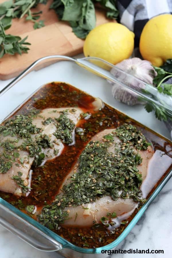 Homemade Chicken Marinade