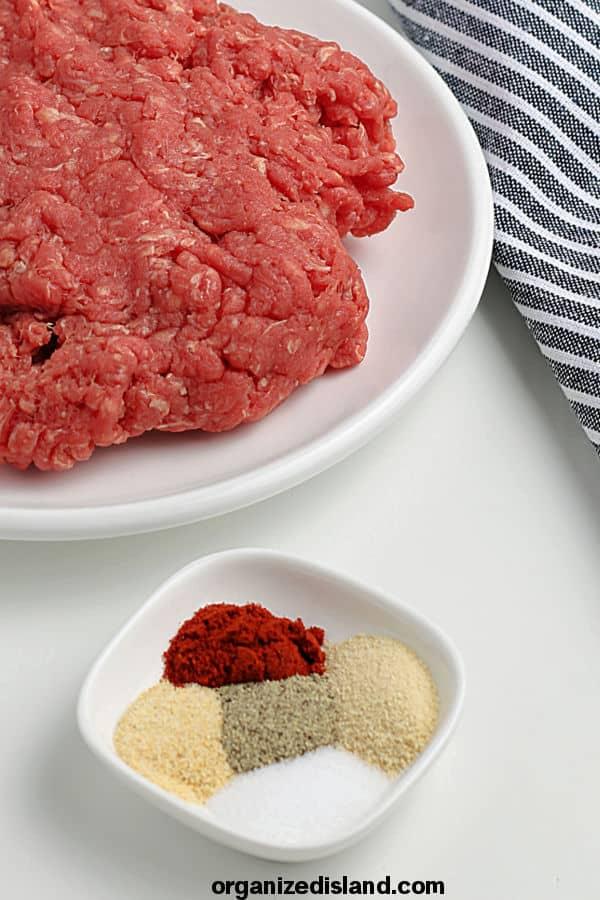 How to Make Air Fryer Hamburgers