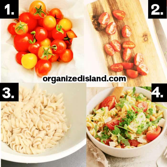 How to Make Mediterranean Pasta Salad