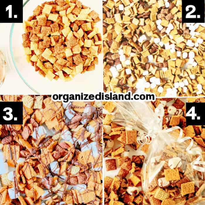 How to Make S'mores Party Mix