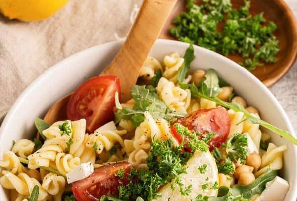 Mediterranean Pasta SaladRecipe