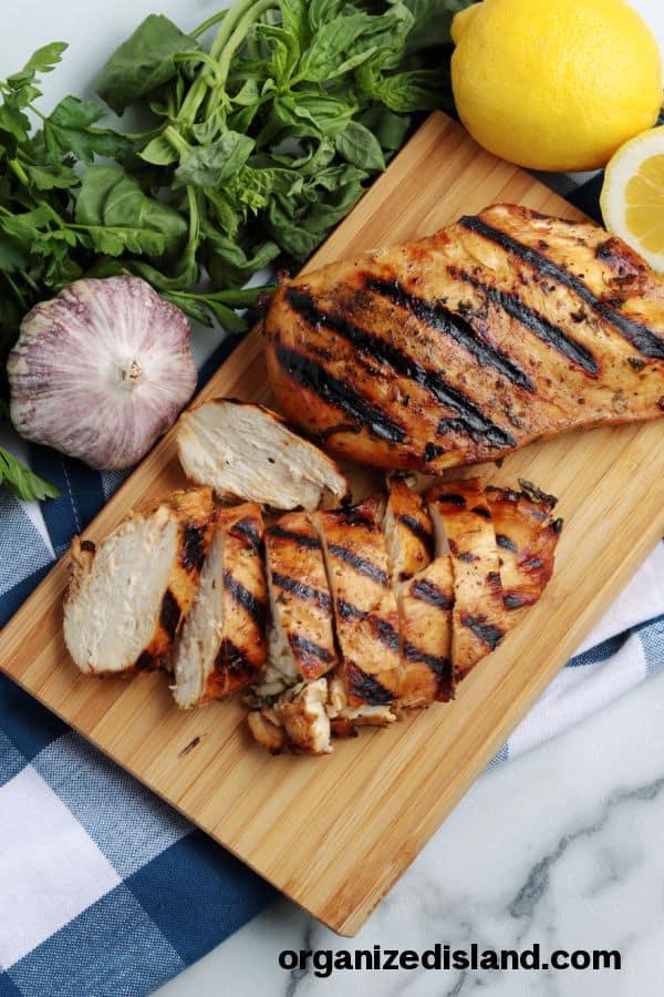 Quick Marinade for Chicken Breast