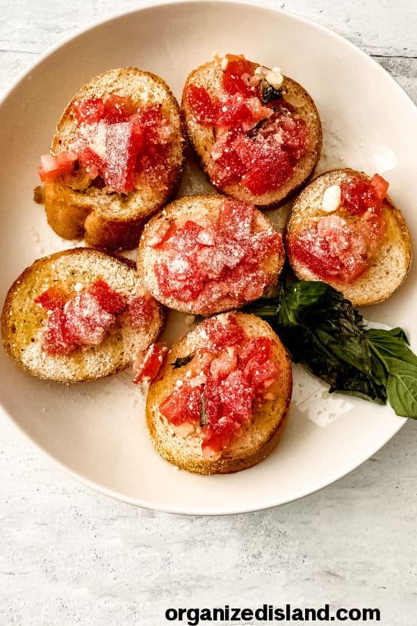 Simple Bruschetta Recipe