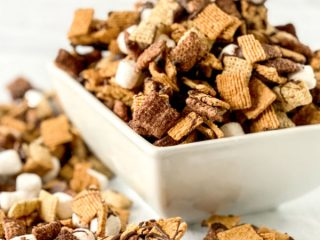 S'mores Mix in bowl