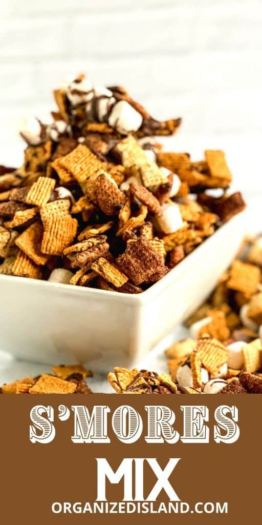 S'mores Trail Mix in bowl