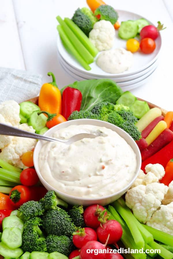 Best Vegetable Dip